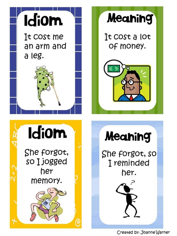 idioms and meanings for kids - photo #7