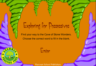 Exploring for Possessives - Possessive Nouns