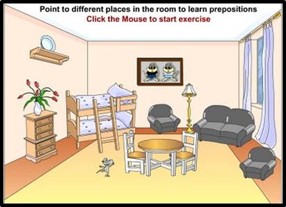 Worksheets Pic On Preposition prepositions mrs warners 4th grade classroom click on link above preposition game