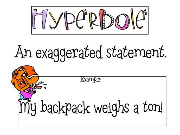 punishment writing assignments examples of hyperbole