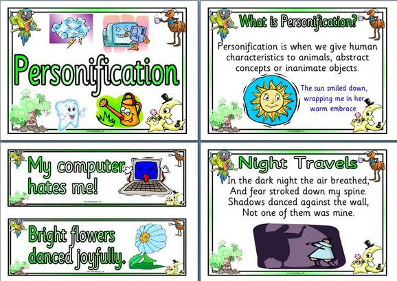minitenti34s soup – Personification Worksheets