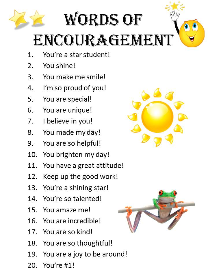 Motivational Words Adorable Encouragement Motivation & Inspiration  Mrswarner's 4Th Grade