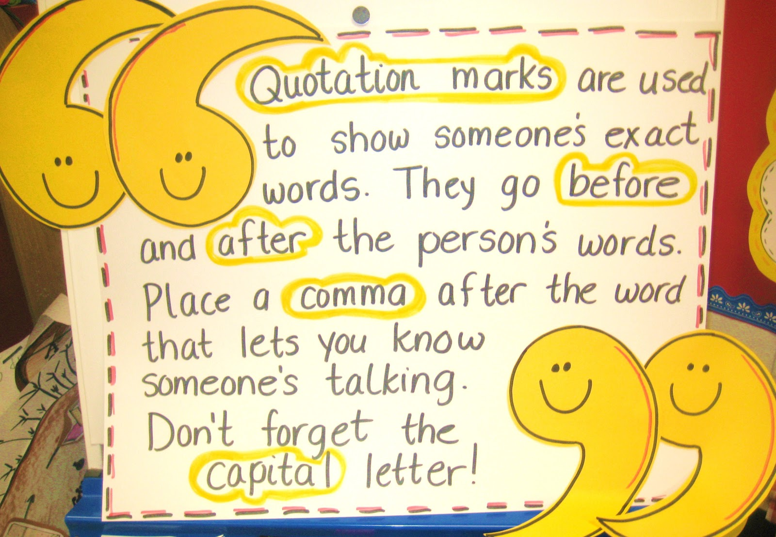 dialogue using quotation marks mrs warner s learning community